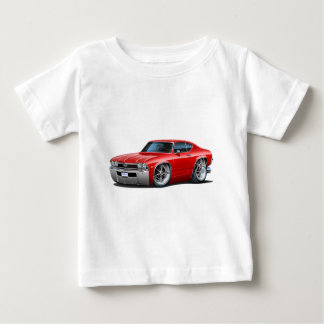 1968 Chevelle Red Car Baby T-Shirt