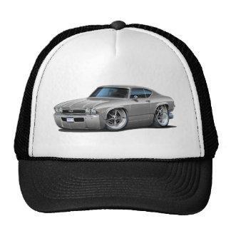 1968 Chevelle Silver Car Trucker Hat