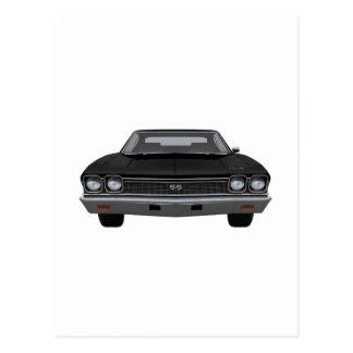 1968 Chevelle SS: Black Finish Postcard