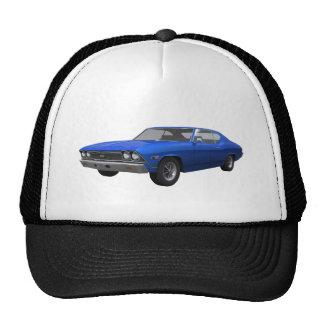 1968 Chevelle SS: Blue Finish Trucker Hat