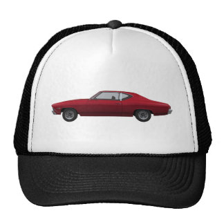 1968 Chevelle SS: Candy Apple Finish Trucker Hat