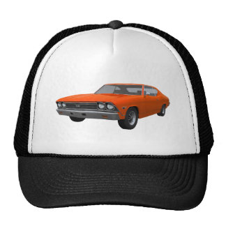1968 Chevelle SS: Orange Finish Trucker Hat