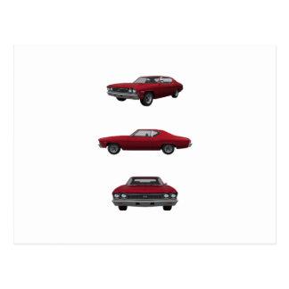 1968 Chevelle SS: Postcard