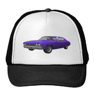 1968 Chevelle SS: Purple Finish Trucker Hat