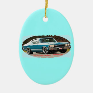 1968_Chevrolet_Chevelle_SS Ceramic Ornament