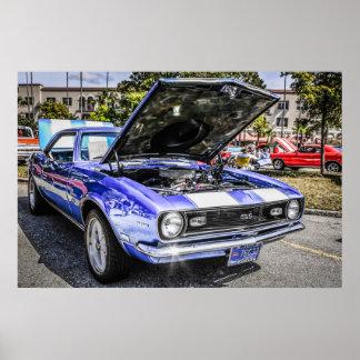1968 Chevrolet Chevy Camaro SS Poster