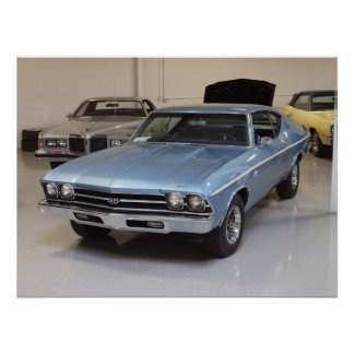 1968 Chevy Chevelle SS 396 Sport Coupe Poster