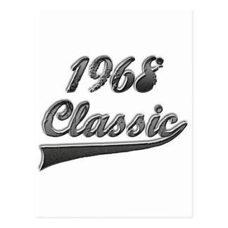 1968 Classic Postcard