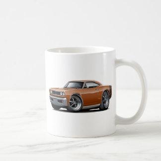 1968 Coronet RT Brown-Black Car Coffee Mug