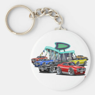 1968 Firebird Car Dealer Keychain