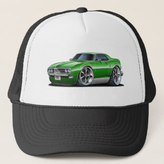 1968 Firebird Green Car Trucker Hat