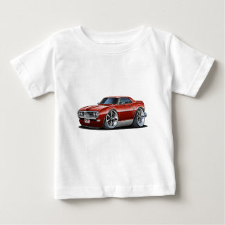 1968 Firebird Maroon Car Baby T-Shirt