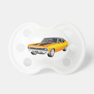 1968 Gold Muscle Car Pacifier