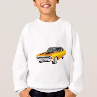 1968 Gold Muscle Car Sweatshirt