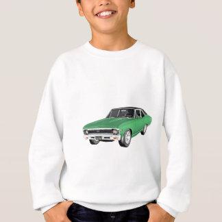 1968 Green Muscle Car Sweatshirt