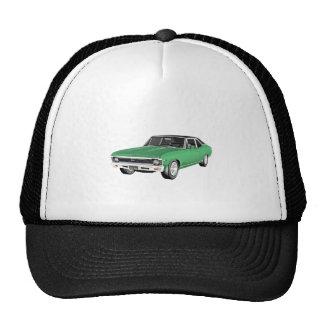 1968 Green Muscle Car Trucker Hat