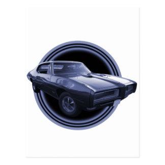 1968 GTO Moon Postcard