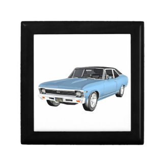 1968 Light Blue Muscle Cars Jewelry Boxes