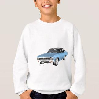 1968 Light Blue Muscle Cars Sweatshirt