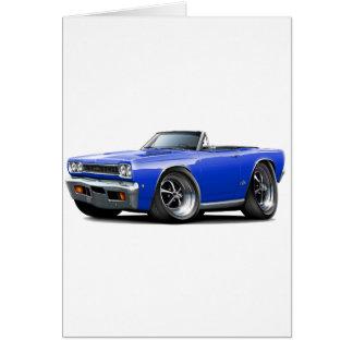 1968 Plymouth GTX Blue Convert Card