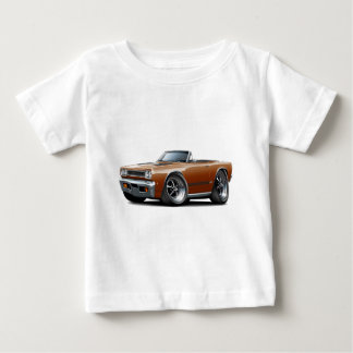 1968 Plymouth GTX Copper-Black Convert Baby T-Shirt