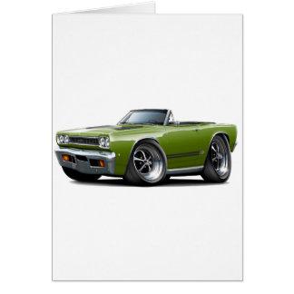 1968 Plymouth GTX Ivy-Black Convert Card