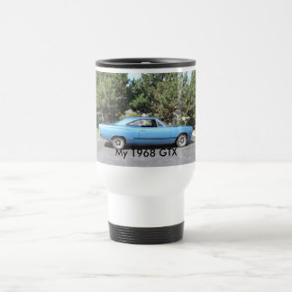 1968 Plymouth GTX travel mug