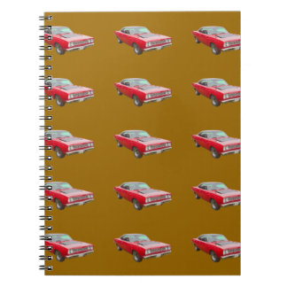 1968 Plymouth Roadrunner Muscle Car Notebooks