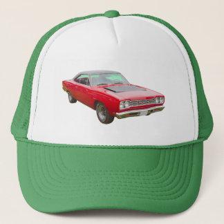 1968 Plymouth Roadrunner Muscle Car Trucker Hat