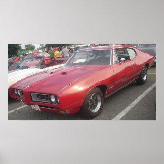 1968 Pontiac GTO Hardtop Poster