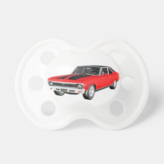 1968 Red Muscle Car Pacifier