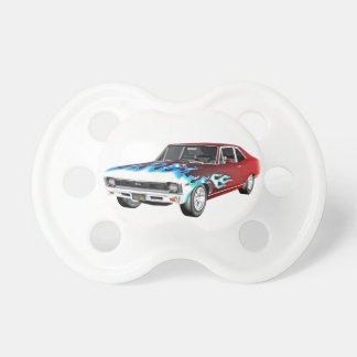 1968 Red White and Blue Muscle Car Pacifier
