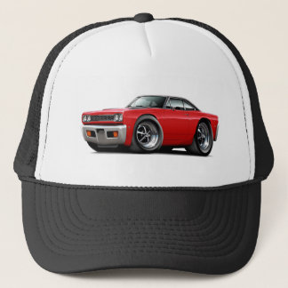 1968 Roadrunner Red-Black Top Trucker Hat