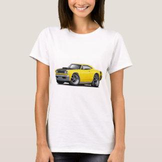 1968 Super Bee Yellow-Black Hood Car T-Shirt