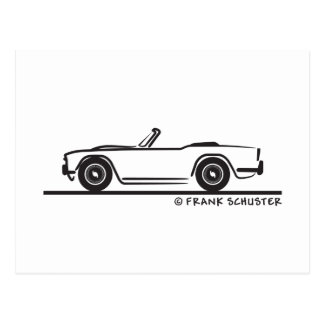 1968 Triumph TR4 Postcard
