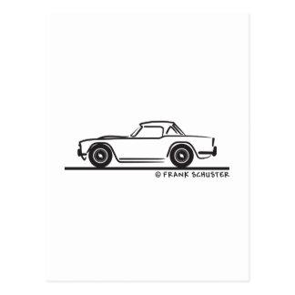 1968 Triumph TR4 Softtop Postcard