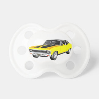 1968 Yellow Muscle Car Pacifier