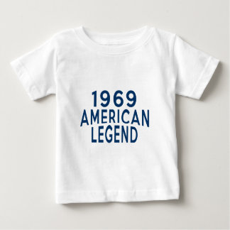 1969 American Legend Birthday Designs Baby T-Shirt