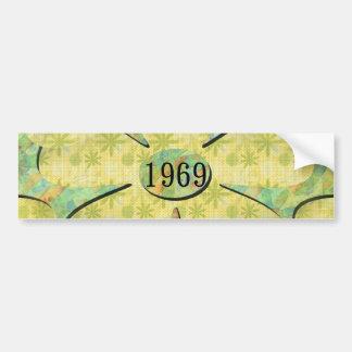 1969 AUTOCOLLANT DE VOITURE