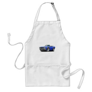 1969 Buick GS Blue Convertible Adult Apron