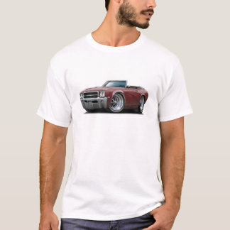 1969 Buick GS Maroon Convertible T-Shirt