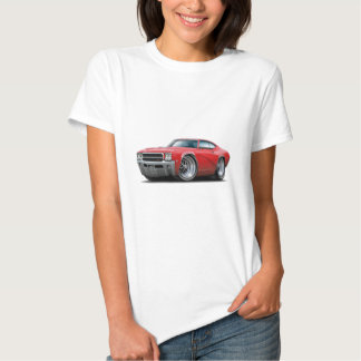 1969 Buick GS Red Car Tshirt