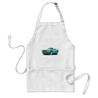 1969 Buick GS Turquoise Convertible Standard Apron