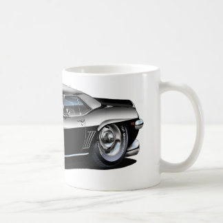 1969 Camaro Black-White Car Coffee Mug