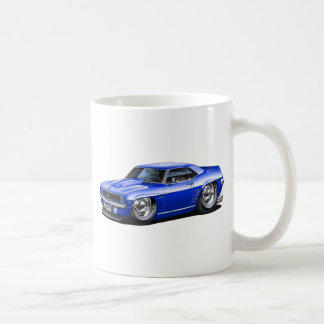 1969 Camaro Blue Car Coffee Mug