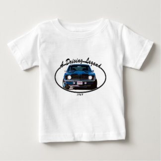 1969_camaro_blue_front baby T-Shirt