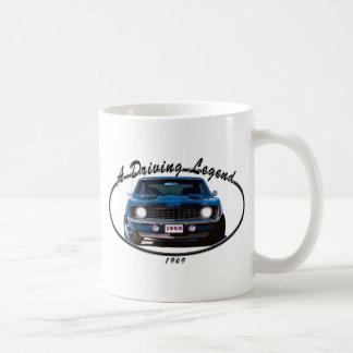 1969_camaro_blue_front coffee mug