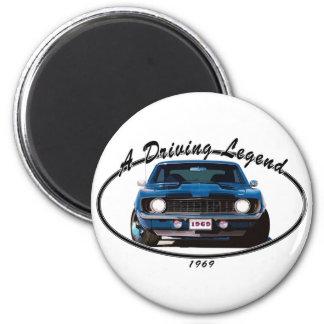 1969_camaro_blue_front magnet
