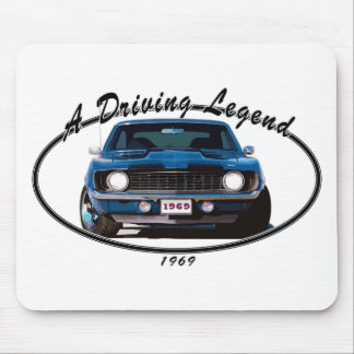 1969_camaro_blue_front mouse pad