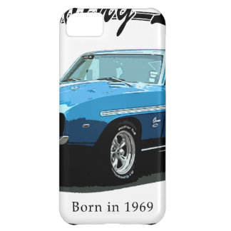 1969 Camaro blue iPhone 5C Case